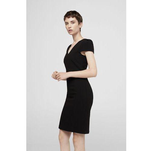 Mango - Sukienka Mara, kolor czarny