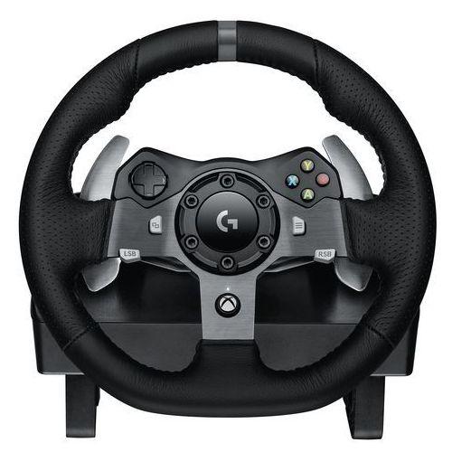 Logitech driving force g920 kierownica wyścigowa do konsoli xbox one i komputera, wersja brytyjska