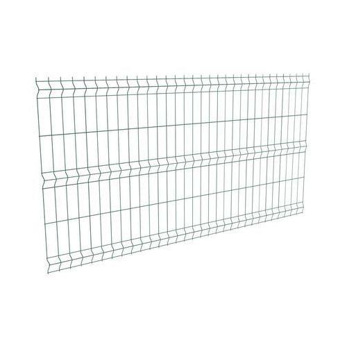 Panel ogrodzeniowy 3D 123 x 250 cm zielony POLARGOS