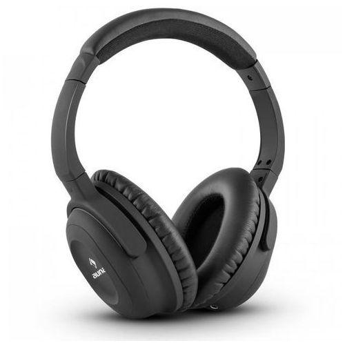 Auna ANC-10 zestaw słuchawkowy z filtrem do redukcji szumów hardcase adapter kolor czarny