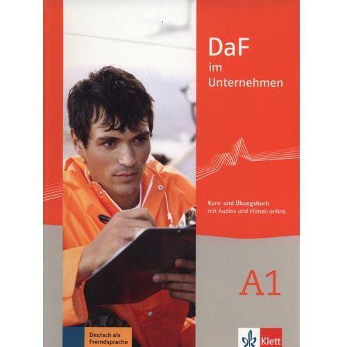 DaF im Unternehmen A1 Kurs- und Ubungsbuch - Wysyłka od 3,99 - porównuj ceny z wysyłką