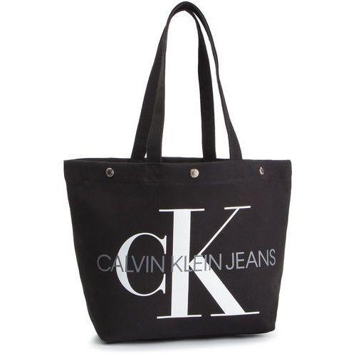 Calvin klein jeans Torebka - canvas utility ew bottom tote m k60k605310 001