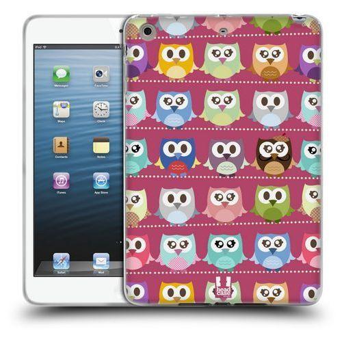 Etui silikonowe na tablet - Kawaii Owl PINK PATTERN