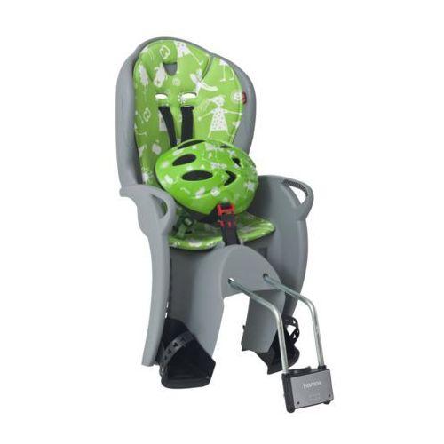 fotelik rowerowy kiss set grey/green marki Hamax