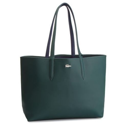 Torebka LACOSTE - Shopping Bag NF2142AA Green Gables/Peacoat B51