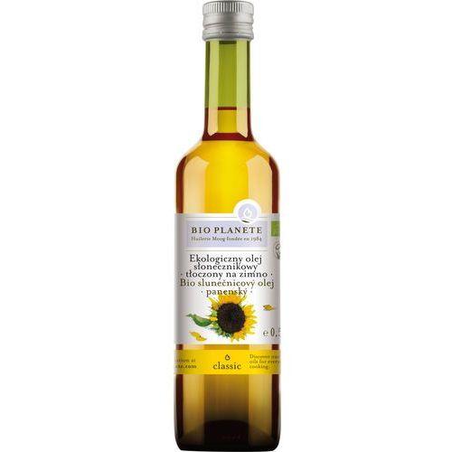Bio planete olej słonecznikowy virgin 500ml marki Bio planete (oleje i oliwy)