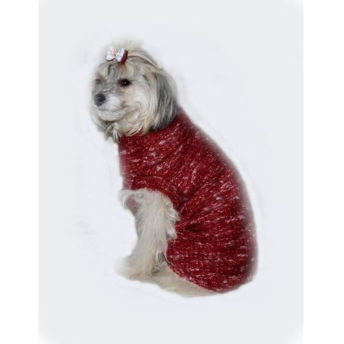 GRANDE FINALE Sweterek Bukla Czerwony KOŃCÓWKA KOLEKCJI