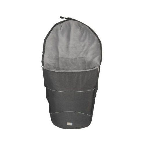 FILLIKID Śpiworek zimowy do wózka Bernina Pocket melange schwarz