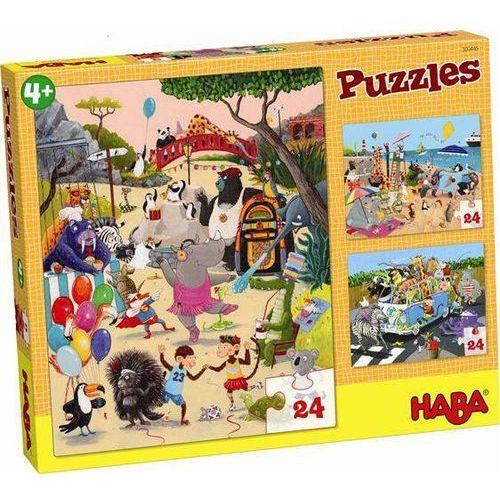 Puzzle Zwariowane Zwierzątka, HB300445 (4576761)