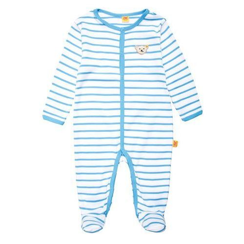 Steiff Collection SUMMER COLORS Śpioszki milky blue z kategorii Body niemowlęce