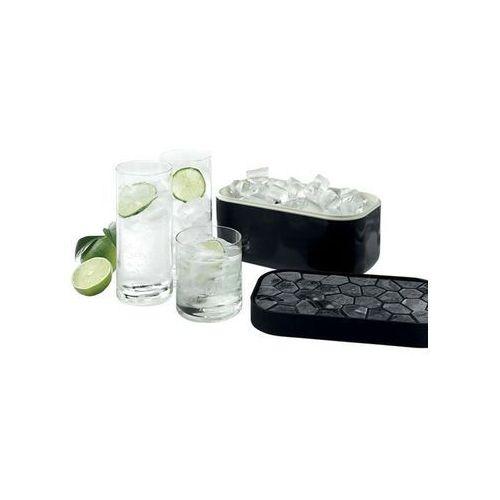 Pojemnik na lód i foremka ICE BOX Lekue czarny (0250400N01C002), 0250400N01C002