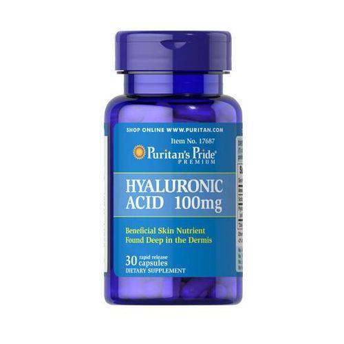Kwas hialuronowy 100mg hyaluronic acid 30 kapsułek  wyprodukowany przez Puritan's pride