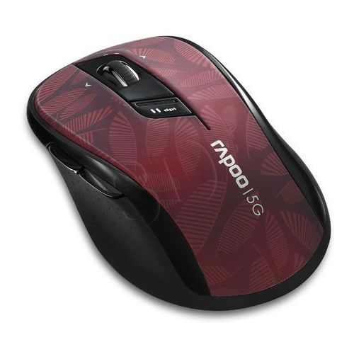 Rapoo  mysz optyczna bezprzewodowa 5g 7100p czerwona