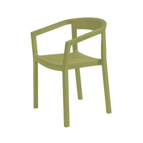 Krzesło peach oliwka marki Resol