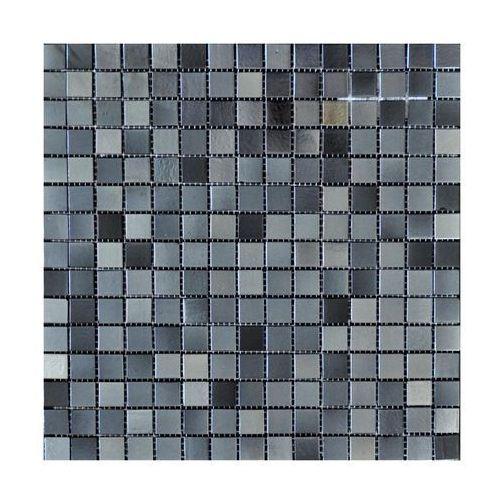 Mozaika ateca 32,5 x 32,5 cm gris marki Iryda