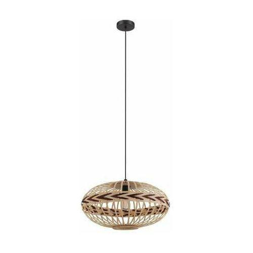 Eglo dondarrion 43272 lampa wisząca zwis 1x40w e27 czarna/szara