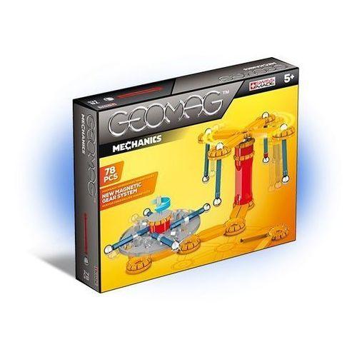 Klocki konstrukcyjne Geomag - Mechanics 78 elementów 0871772007258
