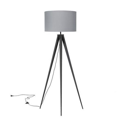 Beliani Lampa stojąca szara 156 cm stiletto (7105275327500)