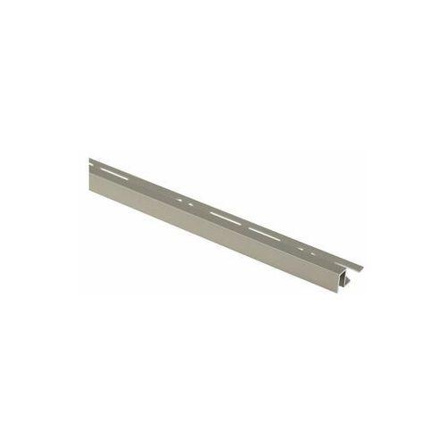 Profil wykończeniowy Aluminium kwadrat 11 X 8 mm / 2.5 m Lux tytan Cezar (5904584807039)