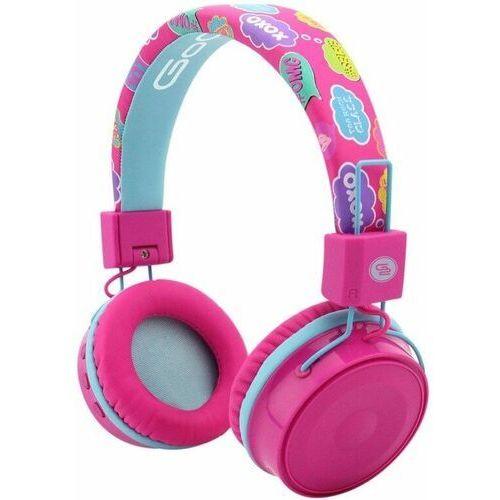 GoGEN słuchawki HBTM 32, różowy
