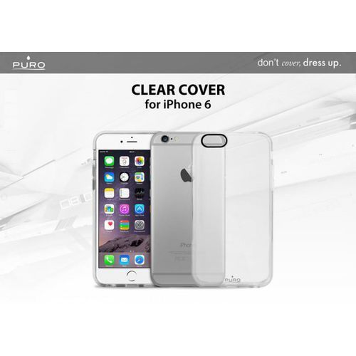 PURO Clear Cover - Etui iPhone 6s / iPhone 6 (clear), IPC647CLEARTR