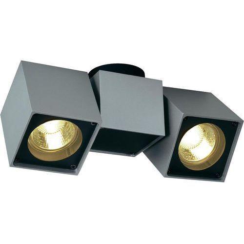 Slv Lampa punktowa  151534 gu10, (dxsxw) 22.5 x 7 x 10 cm, srebrno-szary, czarny (4024163119870)