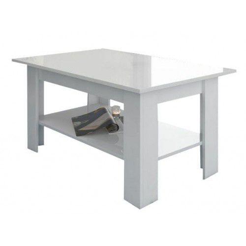 Ława stolik ELAIZA biały mat/biały połysk (5904341364959)