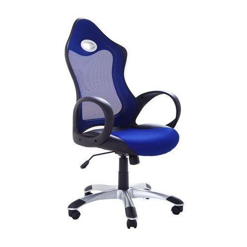 Beliani Krzesło biurowe niebieskie funkcja odchylenia ichair