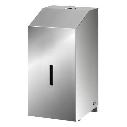 Dozownik do mydła i żelu do dezynfekcji 0,5 litra Bisk MASTERLINE stal połysk (5901487063906)