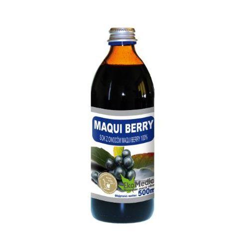 Eka medica maqui berry sok z maqui berry 100% 500ml marki Eko medica