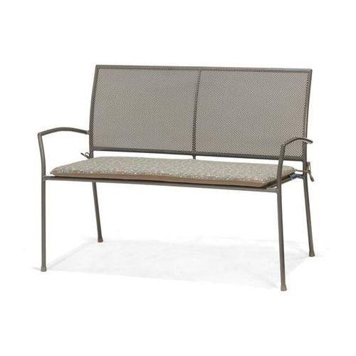 Scancom Ławka 2-osobowa z poduszką z nadrukiem plantagoo (2200000038067)