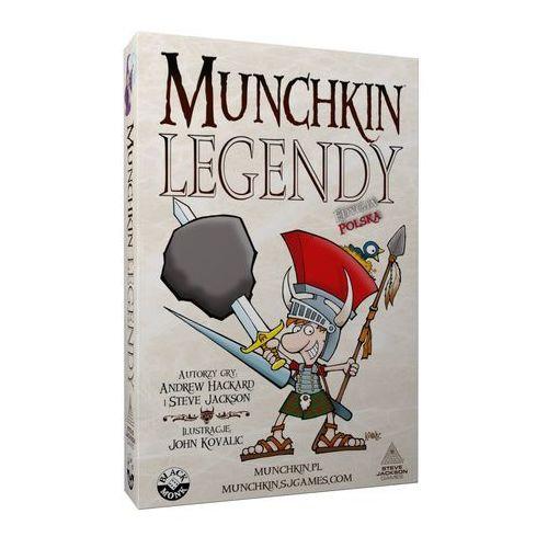 Black monk Munchkin legendy
