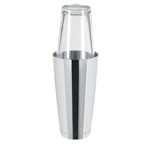 Boston shaker ze szklanką stalowy | 0,8l marki Tom-gast