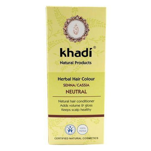 KHADI Indyjska ziołowa farba do włosów Bezbarwna 100g - Bezbarwna