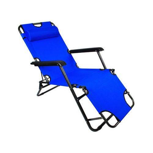 Malatec LEŻAK ogrodowy - niebieski (5901785361018)
