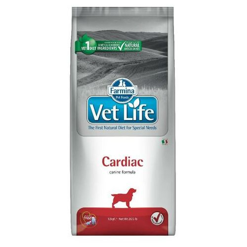 vet life cardiac canine 12kg marki Farmina