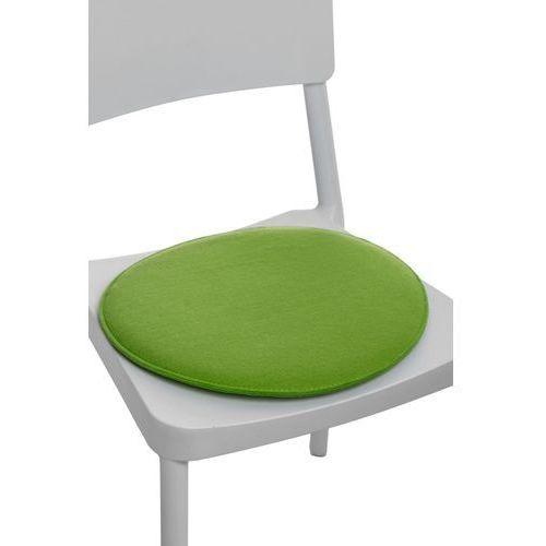 Poduszka na krzesło okrągła zielona_jasn modern house bogata chata marki D2.design