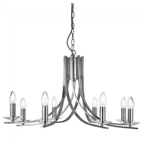 Lampa wisząca ascona srebrny, 8-punktowe - antyk - obszar wewnętrzny - ascona - czas dostawy: od 10-14 dni roboczych marki Searchlight