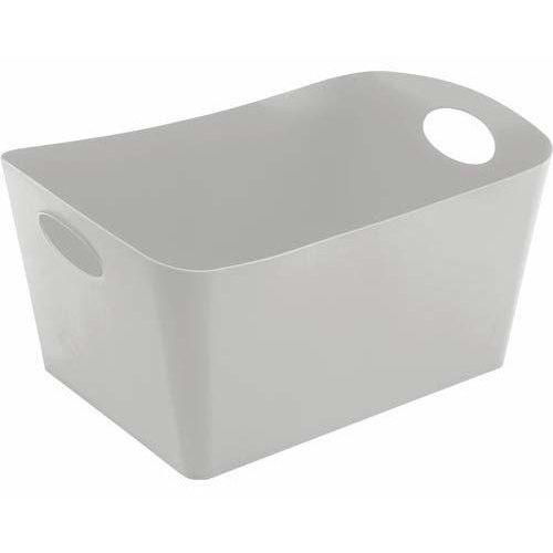 Miska łazienkowa BOXXX, pojemnik, rozmiar L - kolor soft grey, KOZIOL