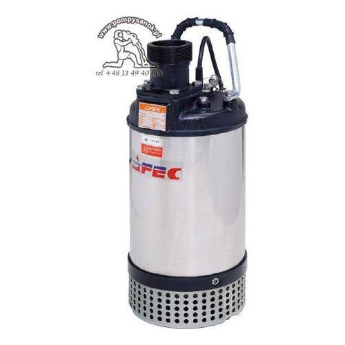 Fs 322 - pompa odwodnieniowa dla budownictwa hmax - 20m, wydajność do 750 l/min - zmiana na proril tank 322 marki Afec