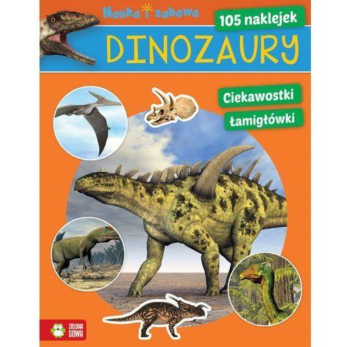 Dinozaury Nauka i zabawa - Wysyłka od 3,99 - porównuj ceny z wysyłką, praca zbiorowa