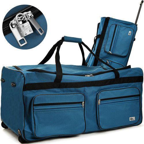 Duża walizka podróżna na kółkach 160 litrów marki Wideshop