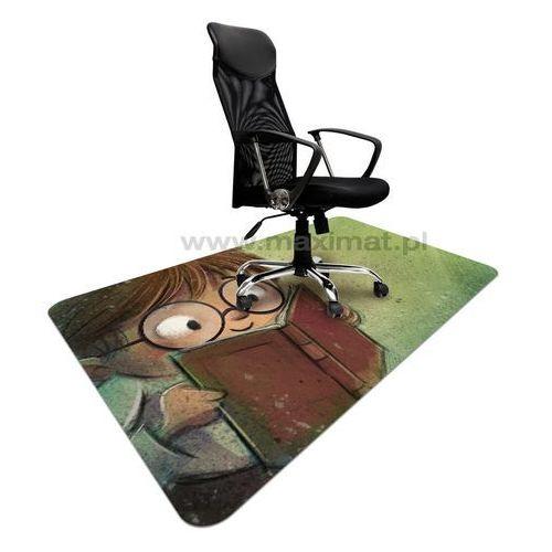 Podkładka ochronna ze wzorem 052 - pod krzesła obrotowe - 120x180cm - gr. 1,3mm marki Maximat