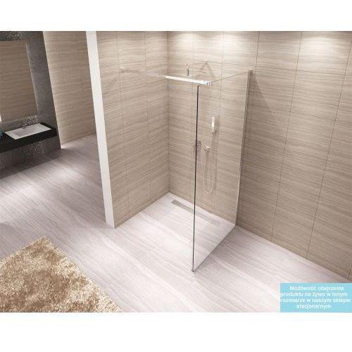 AERO Ścianka Walk-In 120x195, szkło transparentne + powłoka Easy Clean, REA-K7550
