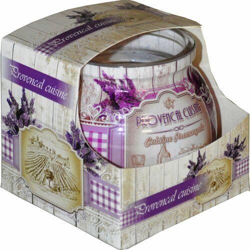 Świeca zapachowa w szklance powlekanej Miral Provencal cuisine (5901969630619)