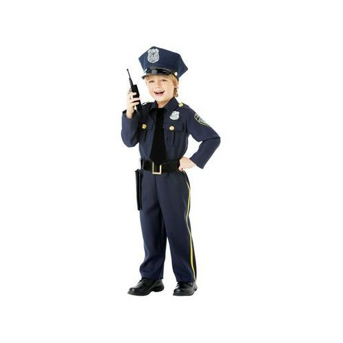 Amscan Kostium policjant - 5/7 lat (116) (0013051579050)