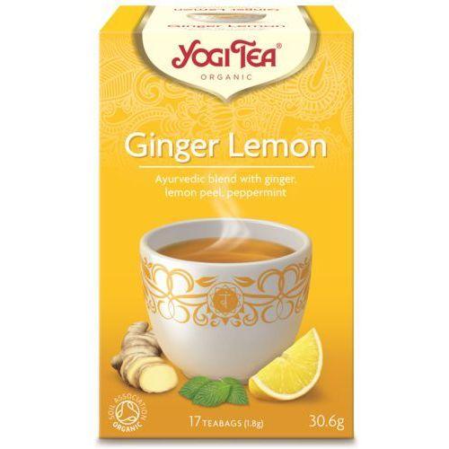 Herbata Imbir-Cytryna BIO (Yogi Tea) 17 saszetek po 1,8g, YOGI