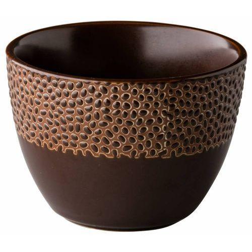 Miska honeycomb brązowa | 500 ml | śr. 120 mm marki Fine dine