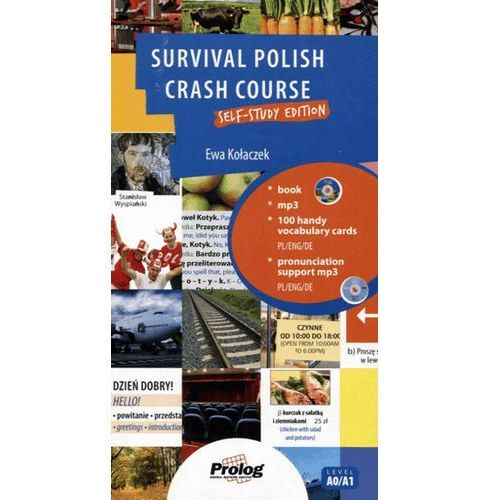 Survival Polish. Crash Course. Self-study edition. Samouczek + 2 CD, oprawa kartonowa
