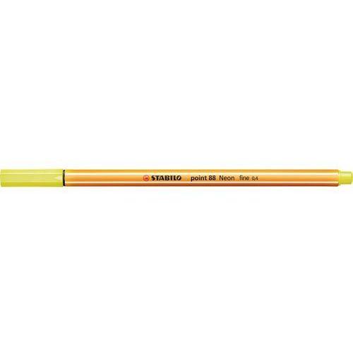 Stabilo Cienkopis point 88/024 neonowy żółty